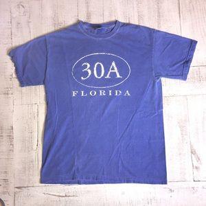 Seaside Florida T-Shirt size medium blue/ purple